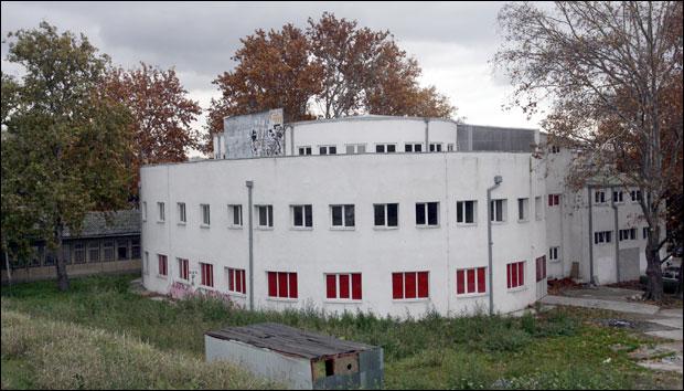 * Nekadašnja logorska bolnica