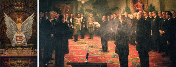 Grb nove države,Proglašenje prve zajedničke južnoslovenske države 1. decembra 1918.