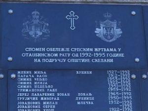 Nema pravde za Srbe u Skelanima Foto: RTRS