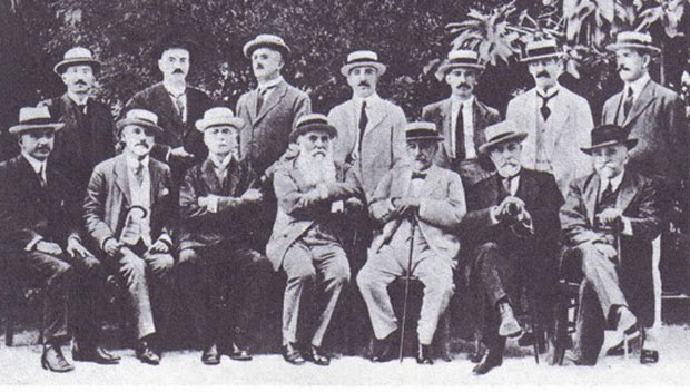 Učesnici Krfske konferencije održane 20. jula 1917.