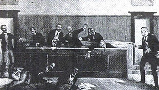 Policijsko svedočanstvo o pogibiji sedam sekretara SKOJ-a