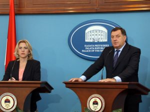 Cvijanović - Dodik (foto: www.presrs.com) Foto: arhiv