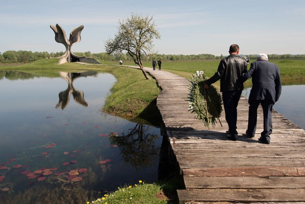 Dan sećanja u Jasenovcu Foto: Tanjug