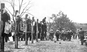 Genocid austrougarske vojske nad Srbima u Mačvi, u kojem su učestvovali i Hrvati