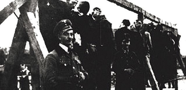 Vešanje Srba i Židova 1942. godine
