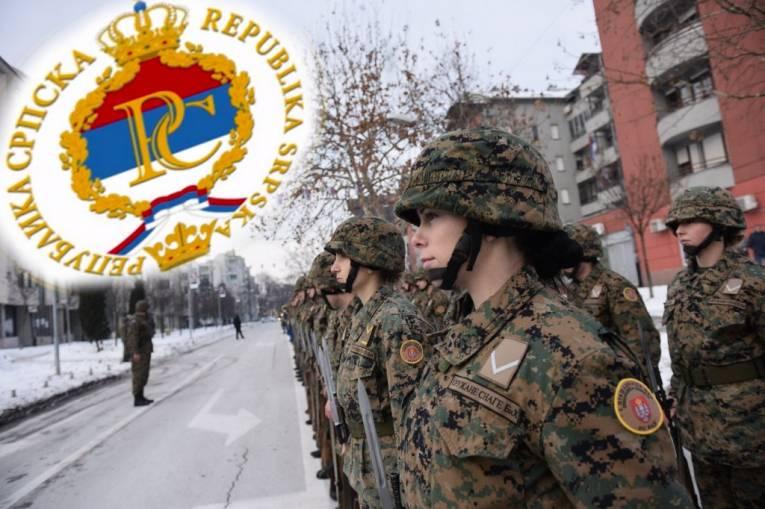Pripadnici Trećeg pješadijskog /Republika Srpska/ puka