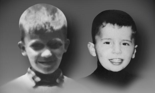 Radosav (12) i Aleksandar (5) Dimitrijević
