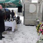 Помоћник министра рада и борачко инвалидске заштите Душко Милуновић положио је вијенац код Централног споменика српским цивилима и војницима у Скеланима код Сребренице.