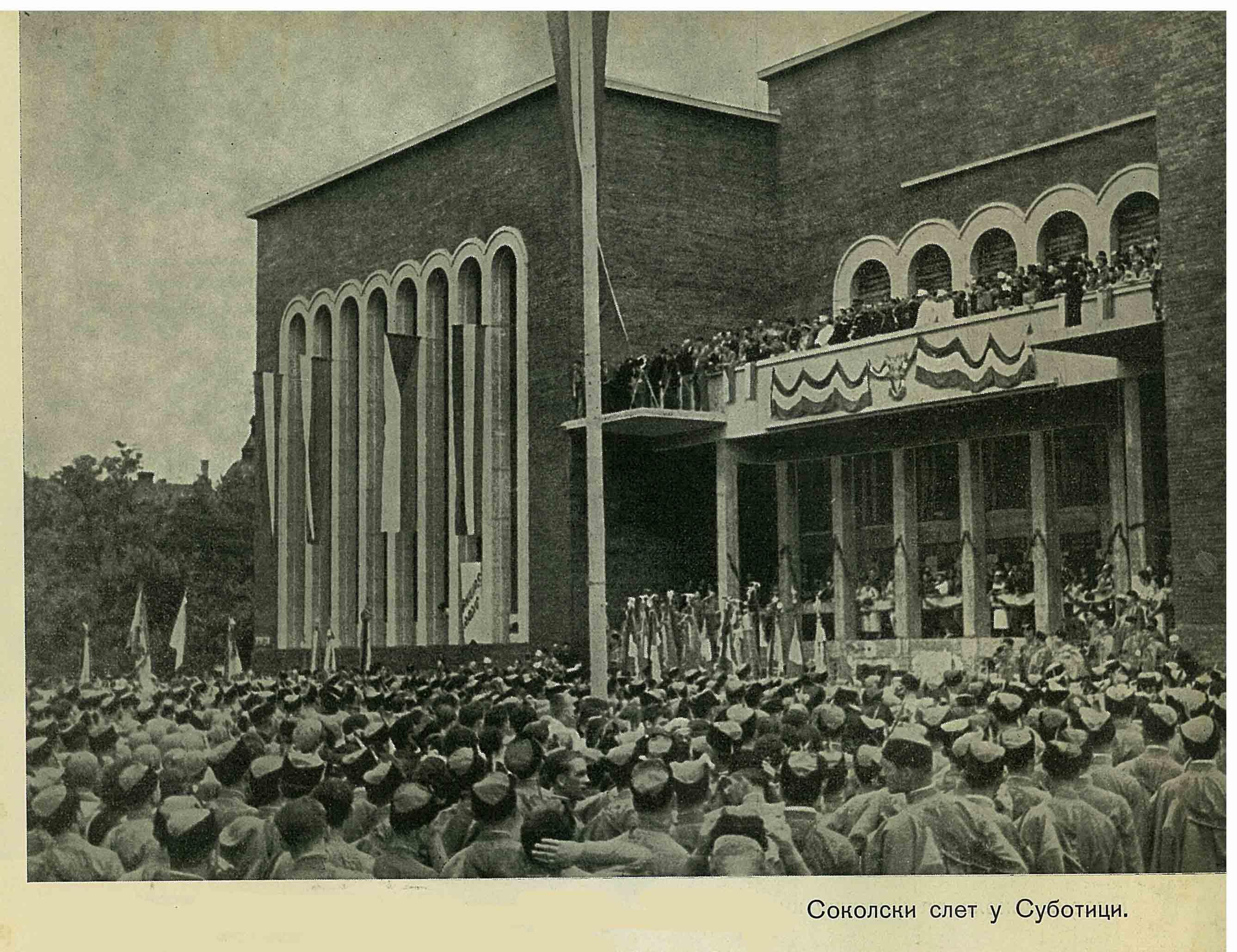 Slet u Subotici 1936. Godine