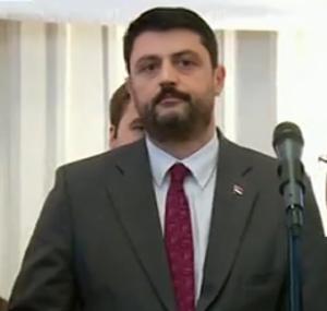 Izaslanik premijera Srbije Vladimir Božović