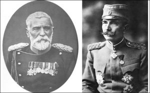 Vojvoda Putnik / Petar Bojović u vreme kada je postao vojvoda