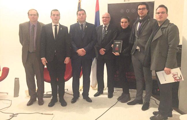 Beri Lituči, Miroslav Đorđević, Miloš Stanić, Jovan Ćirić, Mina Zirojević, Savo Manojlović i Branislav Pantović (Foto: Katarina Tripković)