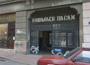 Zgrada u Višnjićevoj ulici Foto V. Danilov