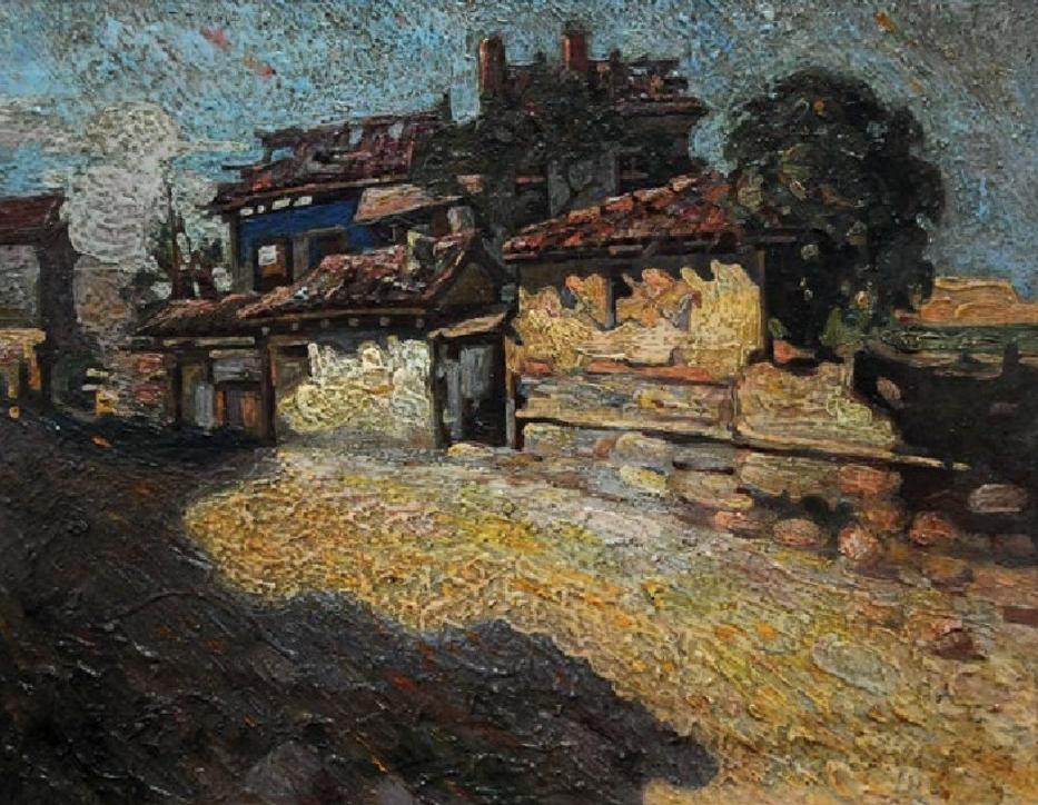 BOMBARDOVANjE BITOLjA 1918 (1918), ULjE NA KARTONU