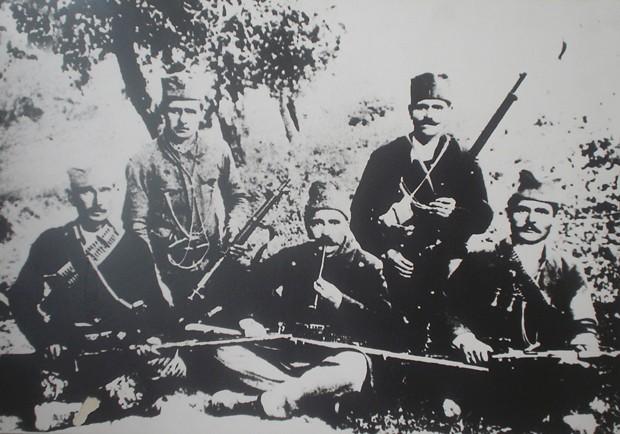 Borci Jablaničkog komitskog odreda
