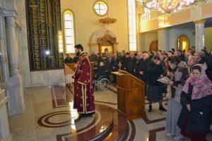 Banjaluka - Drakulić liturgija Foto: SRNA