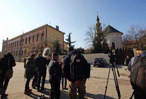 Zasedanje se održava u Vladičanskom dvoru u Novom Sadu (Foto Tanjug/Jaroslav Pap)
