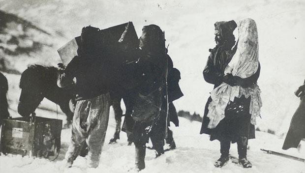 """Samson Černov """"Kroz Albaniju"""", Vojni muzej"""