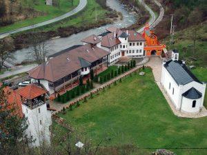 Вишеград - манастир Успенија Пресвете Богородице у Добруну Фото: СРНА