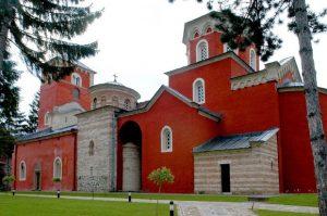 Manastir Žiča u kojem je Sveti Nikolaj najviše boravio
