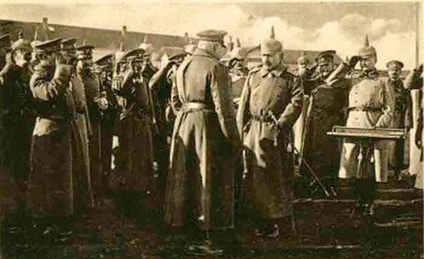 Nemački car Vilhelm II 1916. u Nišu