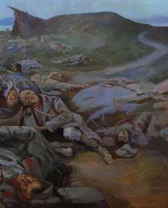 OPELO NA OSTRVU VIDU 1916. GODNE (1916), ULjE NA PLATNU