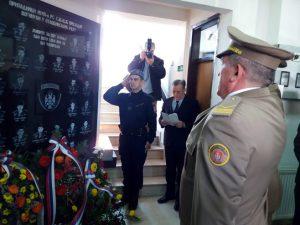 Приједор: Спомен плоча за 36 полицајаца погинулих у одбрамбено-отаџбинском ратуФото: СРНА