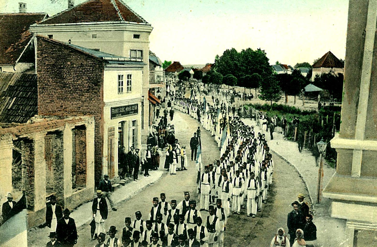 Prvi slet Pobratima i sokola u Bosanskoj Gradišci