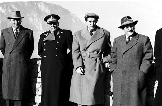 * Ranković, Tito, Đilas i Kardelj