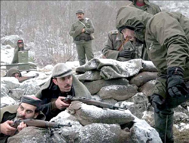 Scene snimljene u crnogorskim vrletima
