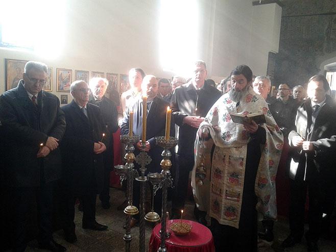 Višegrad: Dobrun - liturgija Foto: SRNA