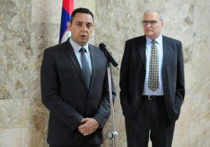 Ministar Aleksandar Vulin i Efraim Zurof