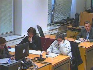 Suđenje Azri Bašić Foto: RTRS