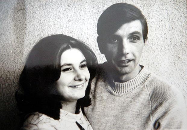Biljana je Dobrivoju bila oslonac u životu Foto privatna arhiva