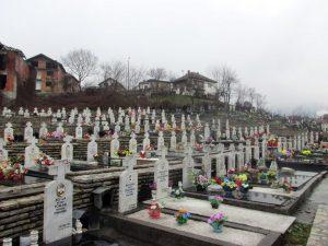 Groblje na kome su sahranjeni preneseni posmrtni ostaci poginulih boraca sa sarajevskog ratišta.