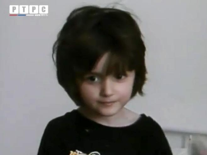 Spasena 6-godišnja djevojčica iz GoraždaFoto: RTRS