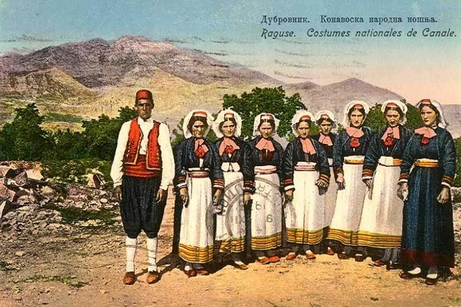 Narodna nošnja iz Konavla, Dubrovnik