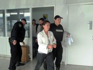 Elfeta Veseli izručena BiH Foto: SRNA