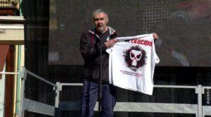 Glasnović na protestu u Zagrebu