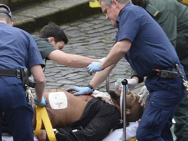 Halid Masud nakon napada u Londonu (Foto: Tanjug)