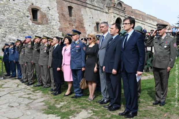 Pripadnici Ministarstva odbrane i Vojske Srbije prisustvovali predstavljanju