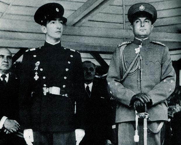 Kralj Petar II i knez Pavle