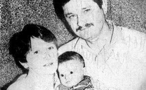 Narodni heroj Milan Tepić sa porodicom