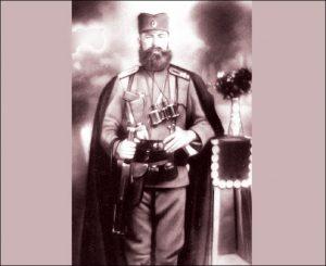 Kapetan Milinko Vlahović, komandant Jablaničkog četničkog odreda