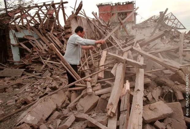 Uništena kuća u Nišu