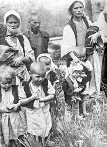 Podrinjski Srbi izbegli 1942. u Srbiju