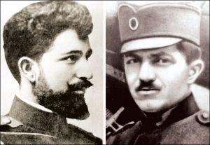 Siniša Stefanović, streljan u Niškoj tvrđavi i kapetan Jovan Ilić, streljan u Niškoj tvrđavi 1917.