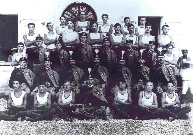 Srpski Soko u Kaštel-Lastvi 1912.