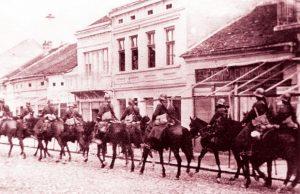 Ulazak Bugarske vojske u Prokuplje 1915. godine