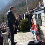 Predsjednik Republike Srpske Milorad položio vijenac na Spomen-kapelu u Starom Brodu.